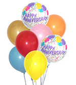 Happy Anniversary Balloon Bouquet